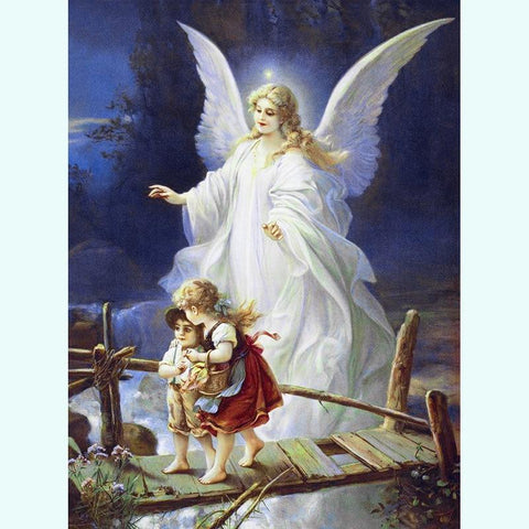 5D Diamond Painting Dream Bridge Angel Guide