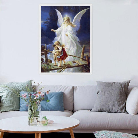 Image of 5D Diamond Painting Dream Bridge Angel Guide
