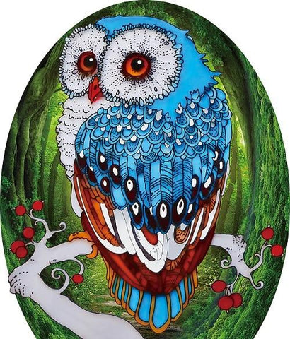 5D Diamond Painting 3D Owl Partial Drill - Acrylic