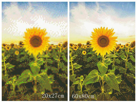 5D Diamond Painting Your Day to Shine Sunflower