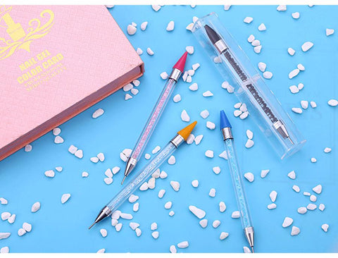 Image of 5D Diamond Painting Double Headed Crystal Decorated Drill Pen