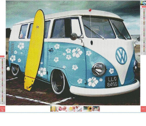 Image of 5D Diamond Painting VW