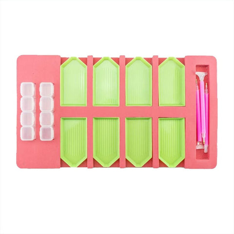 5D Diamond Painting Accessories Storage Tray