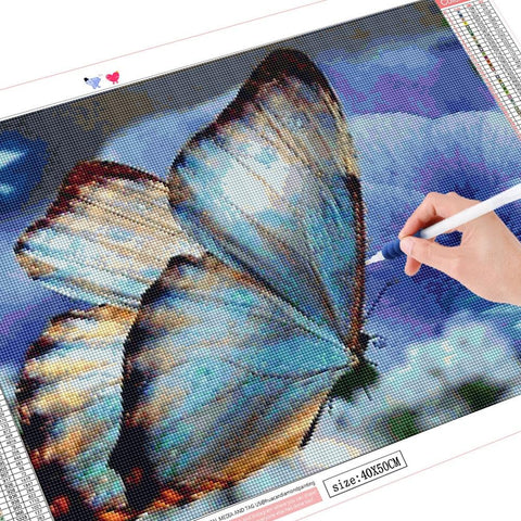 Image of 5D Diamond Painting Beautiful Butterfly Mini Collection