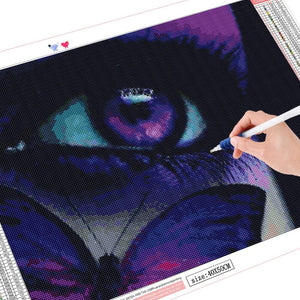 5D Diamond Painting - Beautiful Eye