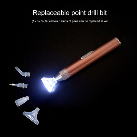 5D Diamond Painting USB Charging Drill Pen with Light