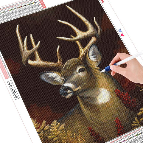 Image of 5D Diamond Painting Deers