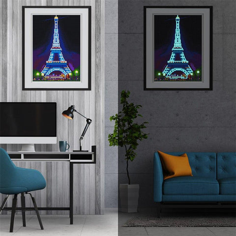Image of 5D Diamond Painting Special Shaped LED Lamp Light