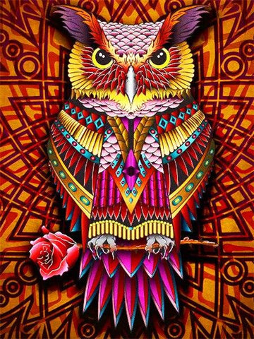 Image of Paint by Numbers Owl Mini Collection