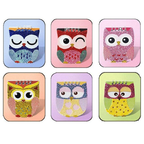 5D Diamond Painitng 6Pcs/Set Children Diamond Painting Notebook