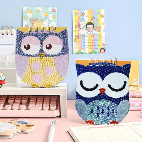 Image of 5D Diamond Painitng 6Pcs/Set Children Diamond Painting Notebook