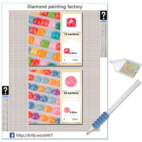 5D Diamond Painting Mystery Painting - 20 Different Pictures