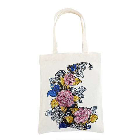 5D Diamond Painting Reusable Tote Bags