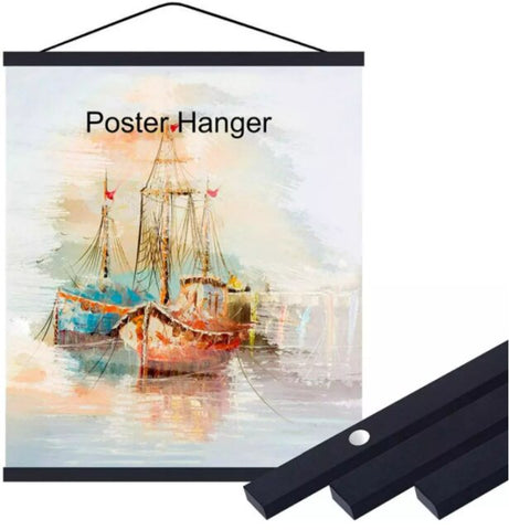 5D Diamond Painting Frame Magnetic Wood Hanger