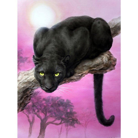 Image of 5D Diamond Painting Black Panther