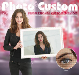 5D Diamond Painting Custom Images - READ DESCRIPTION PRIOR TO ORDERING