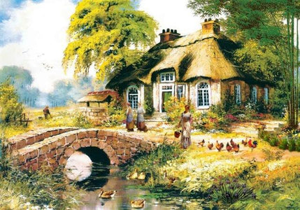 5D Diamond Painting Mini Cottage Collection