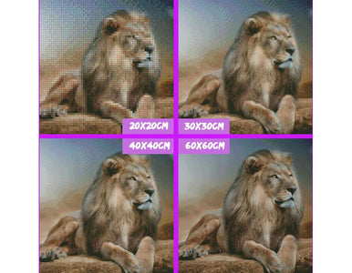5D Diamond Painting Leo the Lion