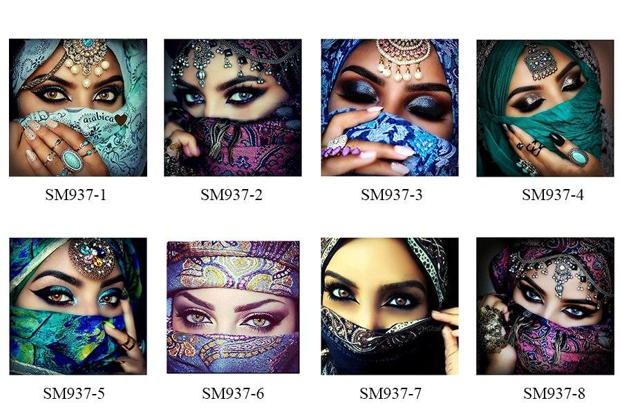 5D Diamond Painting Mask Girl
