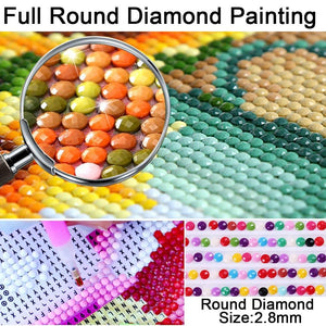 5D Diamond Painting Garden house