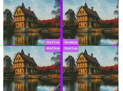 5D Diamond Painting Vintage Castle