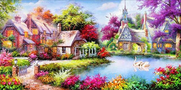 5D Diamond Painting Dream Vacation House