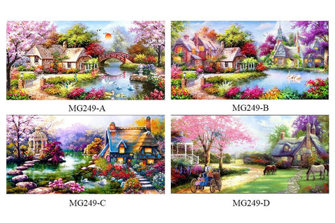 Image of 5D Diamond Painting Dream Vacation House
