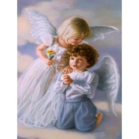 Image of 5D Diamond Painting Two Little Angels