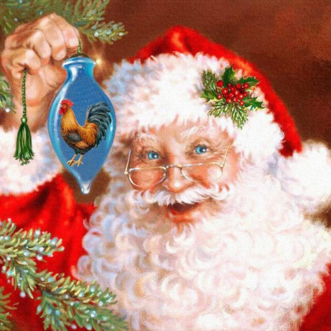 5D Diamond Painting Santa Claus