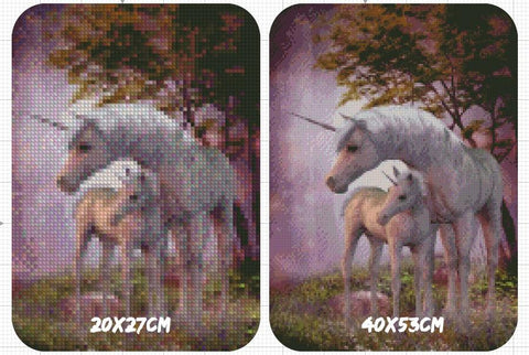 Image of 5D Diamond Painting Unicorn