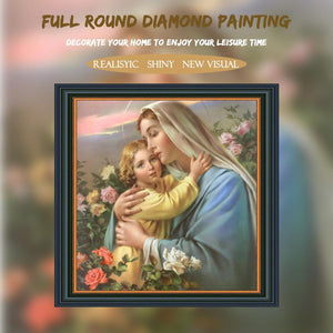5D Diamond Painting Virgin and Child
