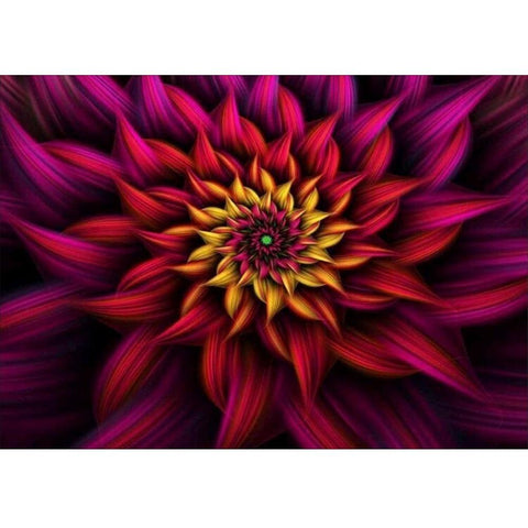 Image of 5D Diamond Painting 3D Flower Looks