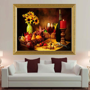 5D Diamond Painting Beautiful Candlelight Dinner