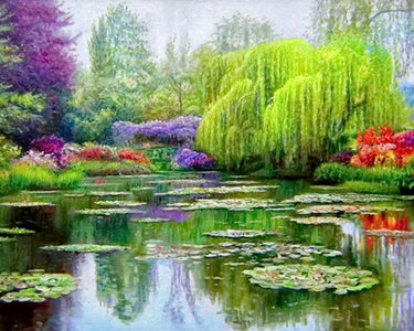 5D Diamond Painting Weeping Willow Tree