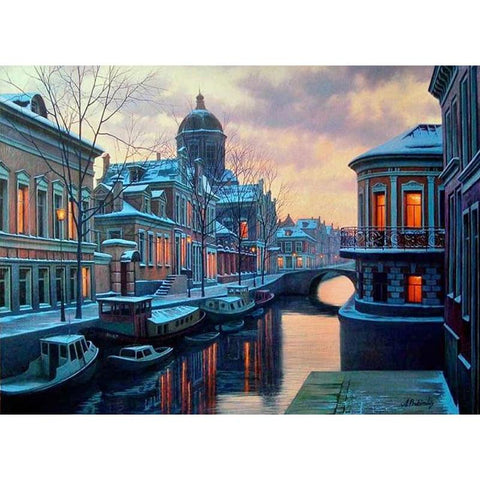 Image of 5D Diamond Painting City River