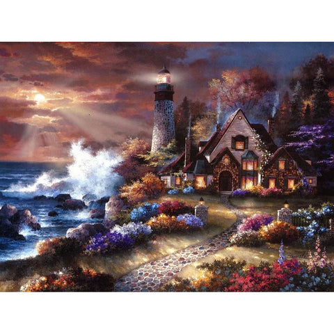 Image of 5D Diamond Painting Lighthouse