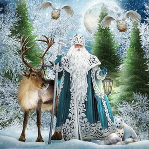 5D Diamond Painting Father Christmas Claus