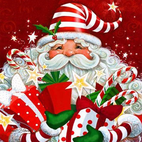Image of 5D Diamond Painting Santa Claus and Gifts
