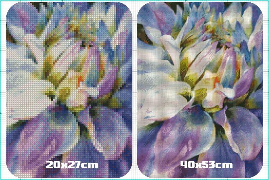 5D Diamond Painting Handmade Mosaic Flower