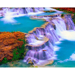 5D Diamond Natural Waterfall Landscape