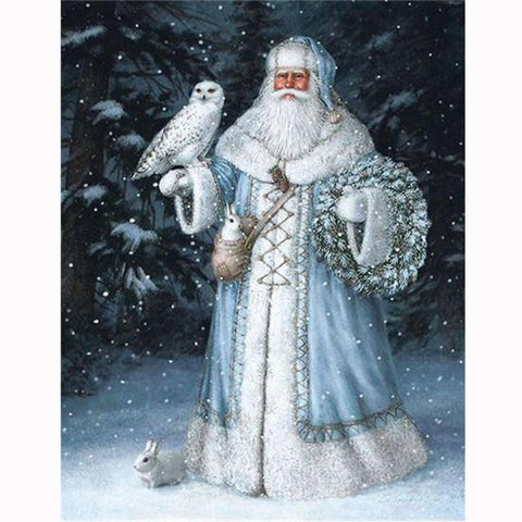 5D Diamond Painting Father Christmas