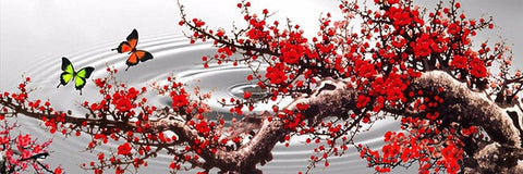 Image of 5D Diamond Painting Plum Blossom