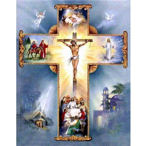 Image of 5D Diamond Painting Jesus on the Cross