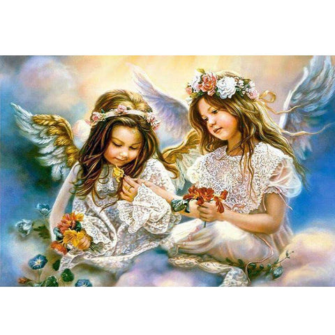 Image of 5D Diamond Painting Angel Girls