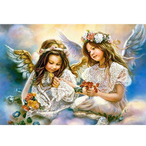 5D Diamond Painting Angel Girls