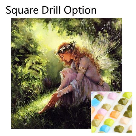 5D Diamond Painting Forest Fairy