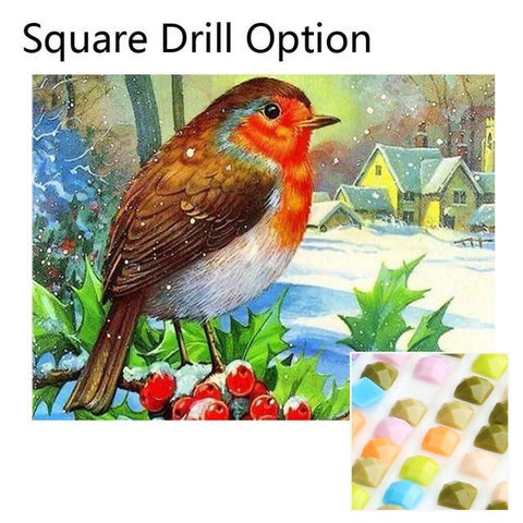 Image of 5D Diamond Painting Bird