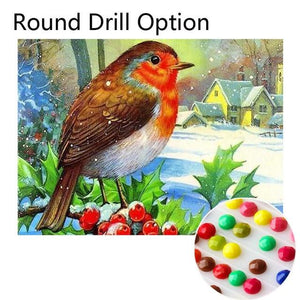 5D Diamond Painting Bird