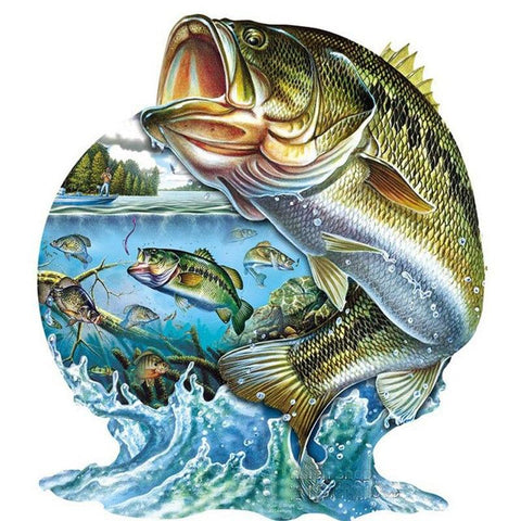 Image of 5D Diamond Painting Big Fish