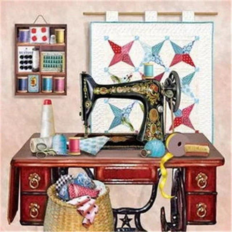 5D Diamond Painting Sewing Machine Mini Collection